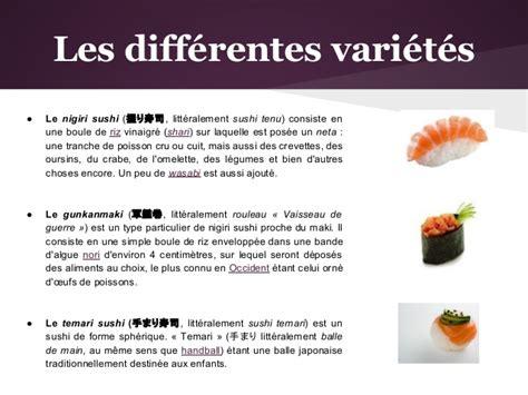 cuisine japonaise calories la cuisine japonaise sushi sashimi et maki