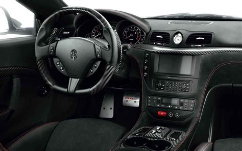 Gallery For Gt Maserati Granturismo Blue White Interior