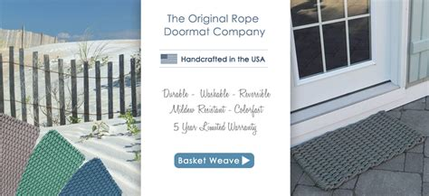 cape cod doormats cape cod doormats the original rope doormat company