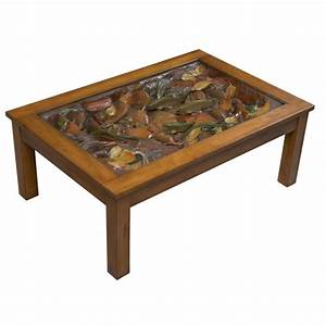 Rustic Trout Stream Coffee Table - Reclaimed Furniture