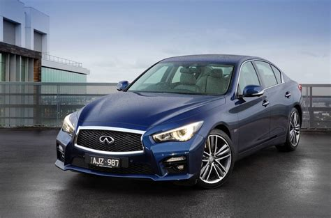 2016 Infiniti Q50 Now On Sale In Australia, 298kw Red