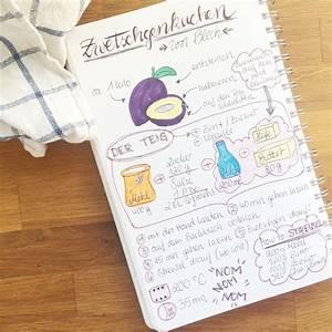 Zeitung Selbst Gestalten : hier geht 39 s zum rezept sketchnotes pinterest kuchen kochbuch und zwetschgen kuchen ~ Fotosdekora.club Haus und Dekorationen