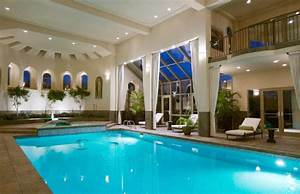 Beautiful indoor pool | Home Theaters & Entertainment ...