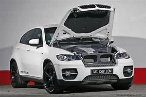 Bmw X6 Xdrive35d White Shark With 340hp By Mcchip