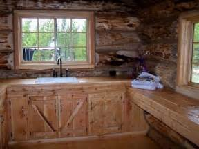 shopping for the right rustic kitchen cabinets for a log cabin home is not always easy