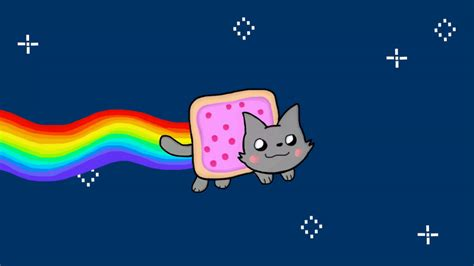 Nyan Cat Wallpaper Animated - nyan cat by finnjr63 on deviantart