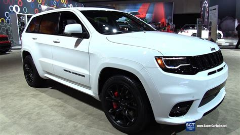 jeep grand cherokee srt white 2017 2017 jeep grand cherokee srt exterior and interior
