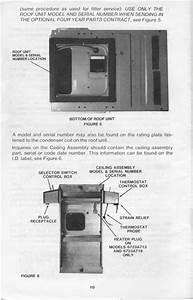 1983 Fleetwood Pace Arrow Owners Manuals  Rv Ac Operation  U0026 Maintenace Instructions Manual