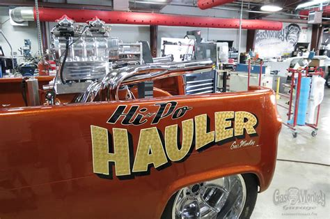weiand blower holley carbs power gas monkey garages