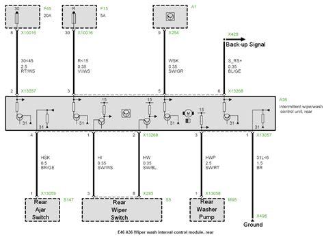 bmw e46 windshield wiper wiring diagram reinell boat