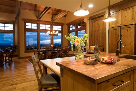 Kitchen & Dining Room Design In Bend  Chi  Complements