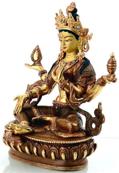 tibetan buddhist  hindu statues lakshmi statuen
