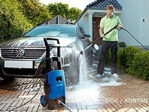 cuci mobil sendiri  mesin bertekanan tinggi