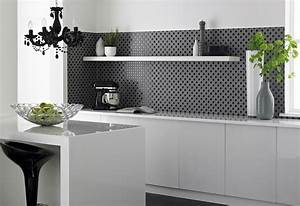 Kitchen wall tiles with abstract design like a professional for Kitchen with wall tiles images