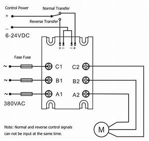 3 Phase Solid State Relay    Ac Normal