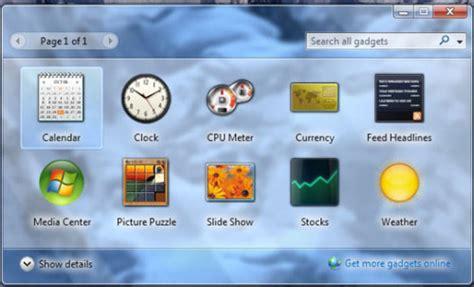 activer bureau a distance windows 7 comment installer un gadget pour windows 7 gadgetak en