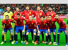 Spain National Football Team Roster Players Squad 2018