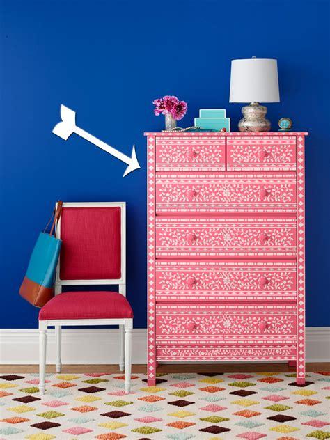 paint  dresser  stencils hgtv