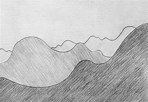 Zeichnen Lernen Mit Bleistift : bung berglandschaft mit luftperspektive zeichnen ~ Frokenaadalensverden.com Haus und Dekorationen