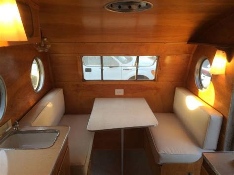 Restored Vintage Campers   1953 Airfloat Navigator