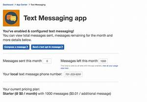 LeagueApps | Text Messaging App Setup