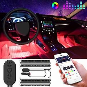 Dji 4x4 8 Pods Rgb Led Rock Light Kits With Bluetooth