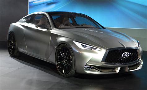 Toyota Infiniti by Infiniti Q60 Concept Revealed With Turbo V6 Toyota