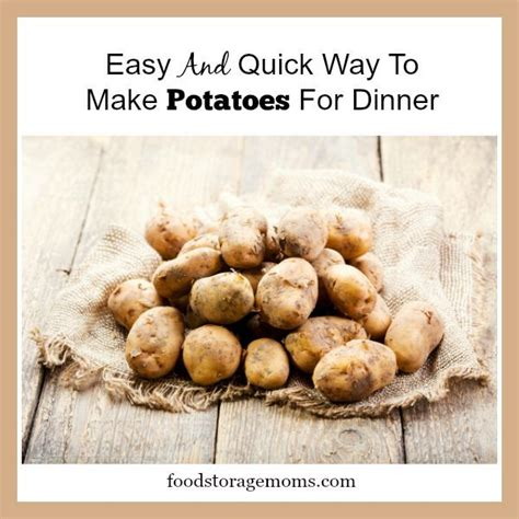 ways to fix potatoes easy and quick way to make potatoes for dinner how to use i had and electric
