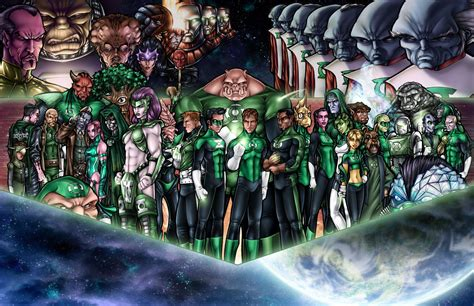 green lantern corps by adamwithers on deviantart