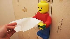 Dévidoir Papier Toilette : un d rouleur papier toilette l go imprim en 3d youtube ~ Nature-et-papiers.com Idées de Décoration