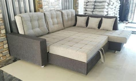 L Shape Sofa Beds by Wooden L Shape Sofa Bed Warranty 2 Years Rs 35000