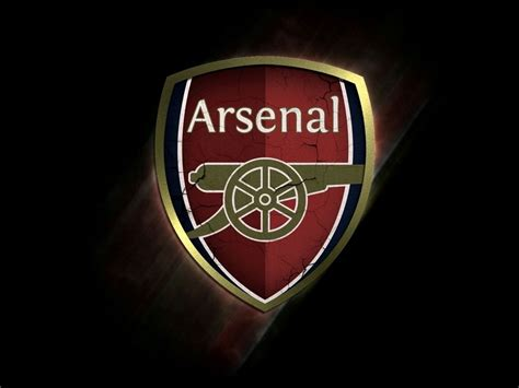 Arsenal Gunners Cool Logo Hd Wallpaper (arsenal Gunners