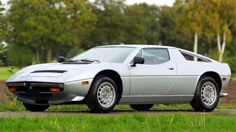Maserati Merak Ss For Sale by 1978 Maserati Merak Ss For Sale A Vendre Verkauf Te