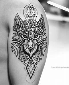 Tatouage Loup Geometrique : les 25 meilleures id es de la cat gorie tatouages de loup ~ Melissatoandfro.com Idées de Décoration