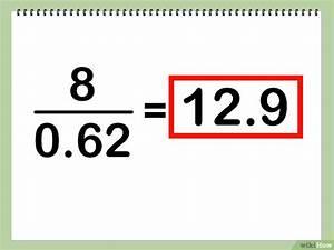 Prozentuale Veränderung Berechnen : eine ganze zahl durch eine dezimalzahl teilen wikihow ~ Themetempest.com Abrechnung