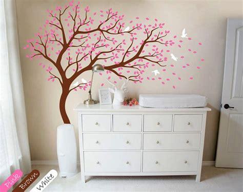 Babyzimmer Wandgestaltung Baum by Babyzimmer Wandgestaltung Baum