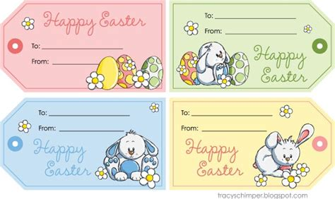 Easter Name Tags Template by Easter Labels Templates Easter Bunny Name Tags Happy
