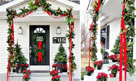 merry christmas outdoor decorations 6 ways to make your outdoor decor merry overstock