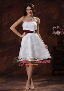 short wedding dresses with color With short colored wedding dresses