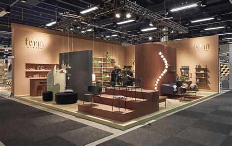 ferm living exhibition stand  stockholm furniture fair