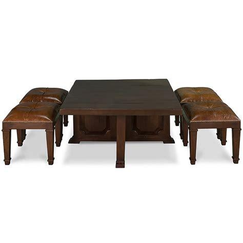 table coffee stools nesting