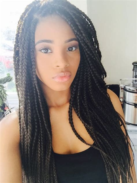 super hot black braided hairstyles  wear