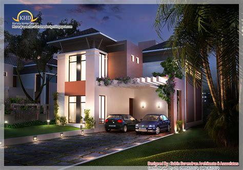 beautiful house elevation  sq ft kerala house design house plans house design