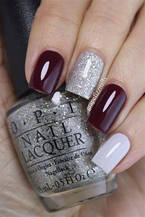 winter gel nails art designs ideas  modern