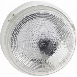 hublot exterieur b22 100 w blanc leroy merlin With carrelage adhesif salle de bain avec ampoule ronde led