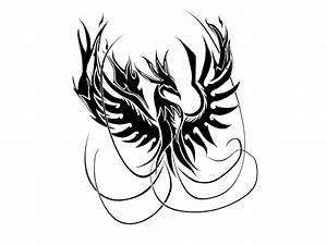 pictures of tribal phoenix bird | Phoenix of fire tattoo ...