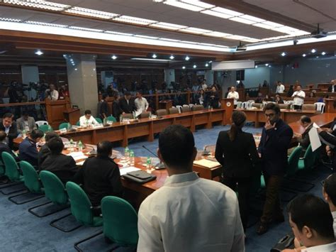 am駭ager bureau senate committee resumes probe on bi bribery inquirer