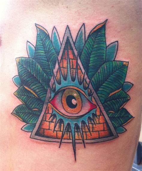 Moon Third Eye Tattoos