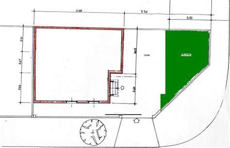 petit cuisine plan d 39 implantation de la maison sur le terrain