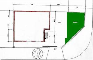 plan d39implantation de la maison sur le terrain With implantation maison sur terrain